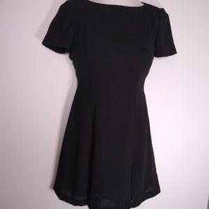 Liz Claiborne Petite Dresses Black Pleats Size 4
